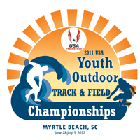 2011 USA Youth Outdoor T&F Champs. logo